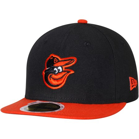 half off f0ffd ec93d Baltimore Orioles New Era Youth Authentic Collection On-Field Road 59FIFTY  Fitted Hat - Black Orange - Walmart.com
