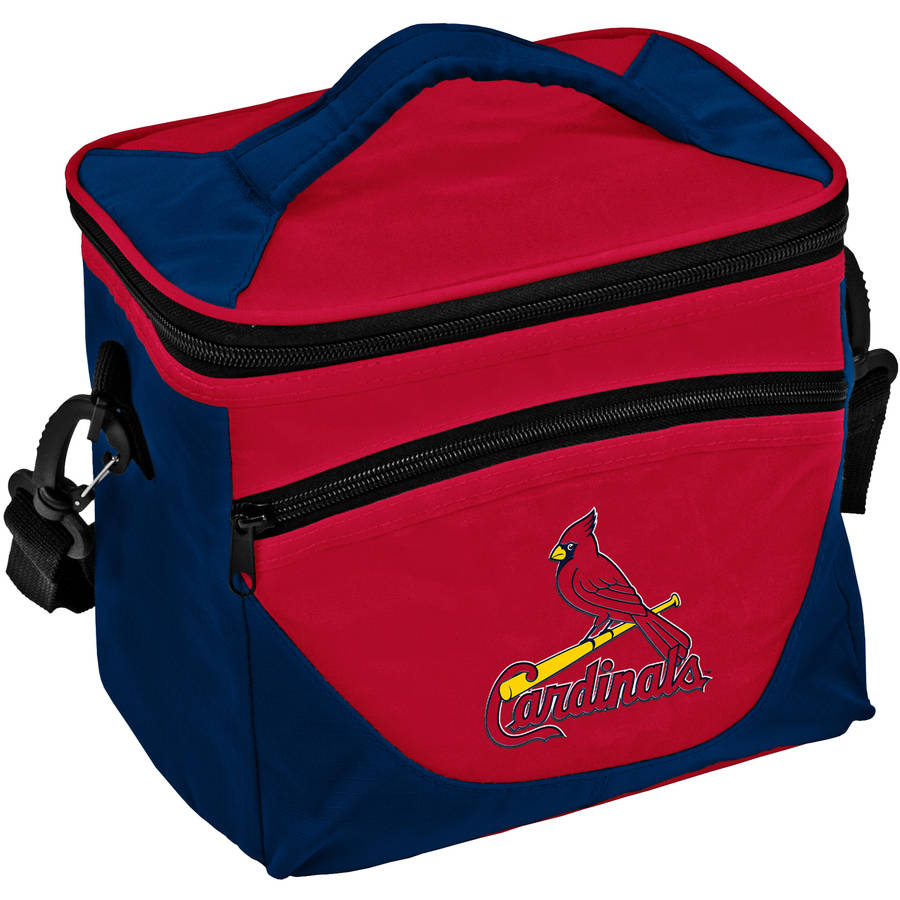 Logo MLB St Louis Cardinals Halftime Lunch Cooler