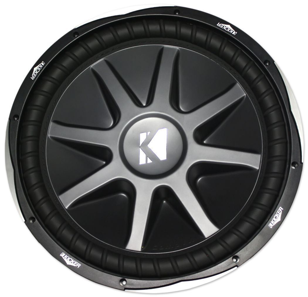 Kicker 15   COMP SUBWOOFER 4 OHM DVC