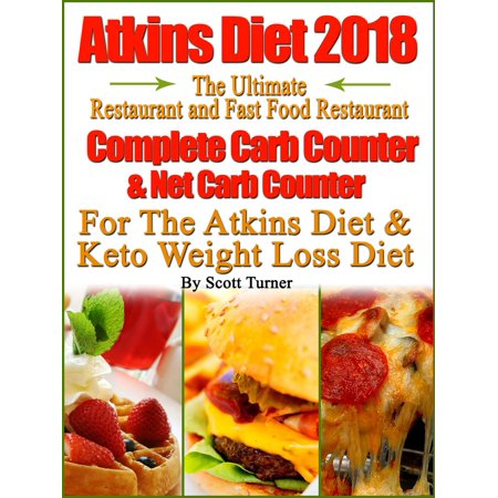 Atkins Diet 2018 The Ultimate Restaurant and Fast Food