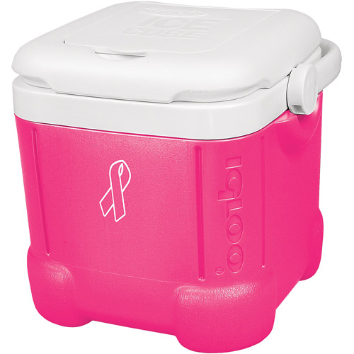 Igloo Pink Ribbon Ice Cube 14 Personal Cooler