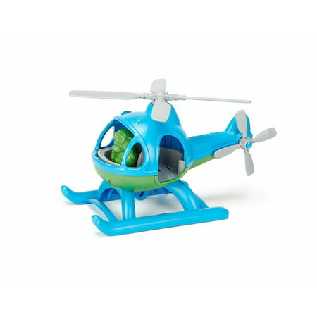 - Green toys blue and green plastic helicopter