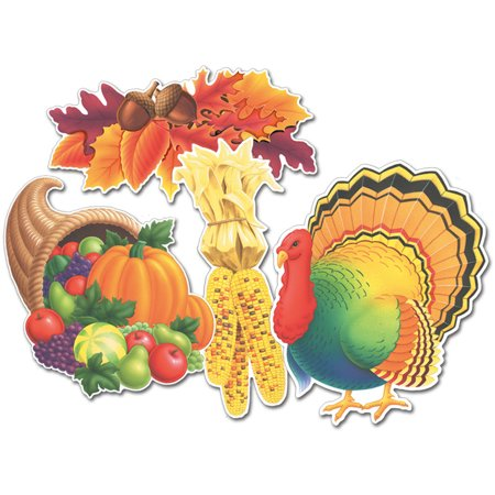 Fall/Thanksgiving Cutouts - 13.5