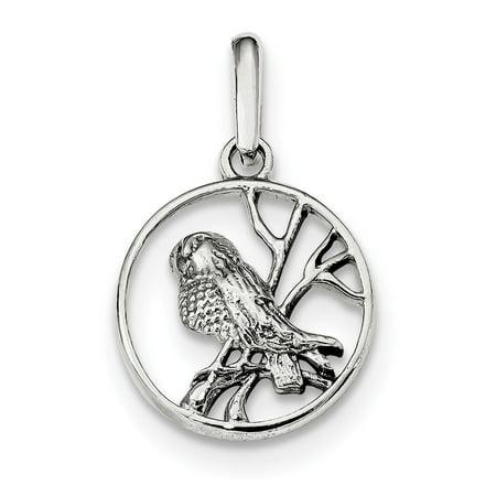 Sterling silver bird pendant walmart sterling silver bird pendant mozeypictures Image collections