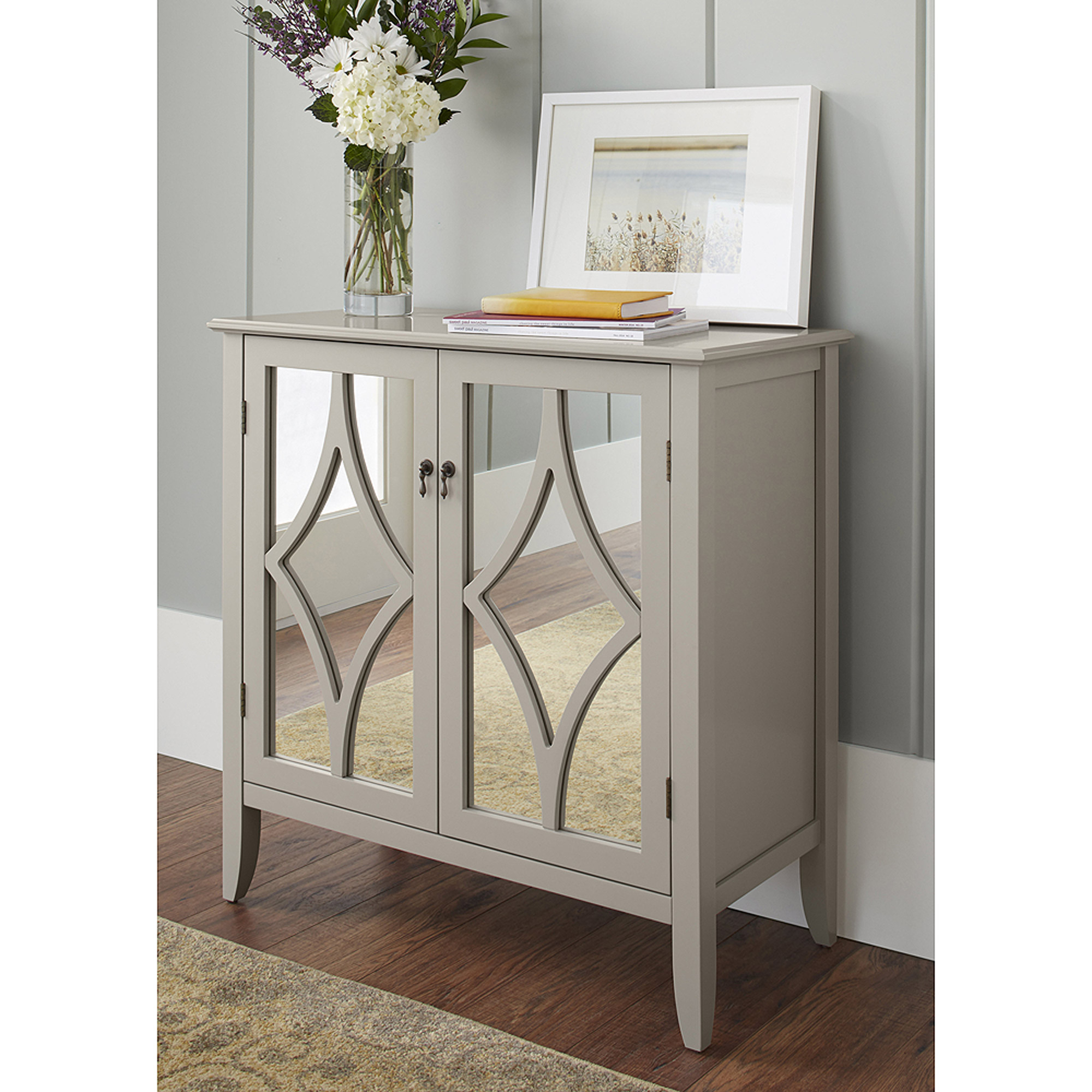10 Spring Street Charlotte 2-Door Cabinet, Multiple Colors ...
