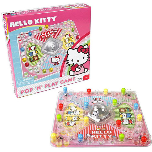 Pressman Hello Kitty Pop 'N' Play Game
