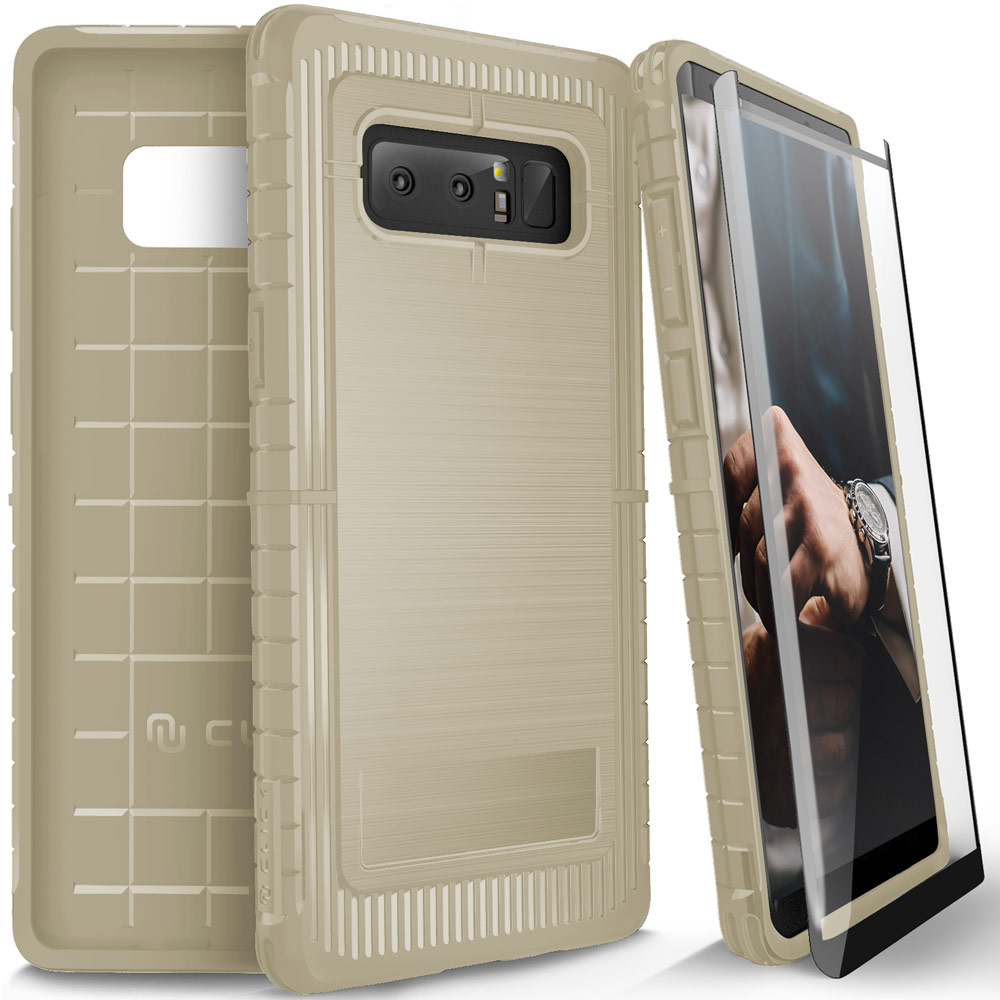 Samsung Galaxy Note 8 / S8 / S8 Plus Case, CLICK CASE Dynite w/ Screen Protector