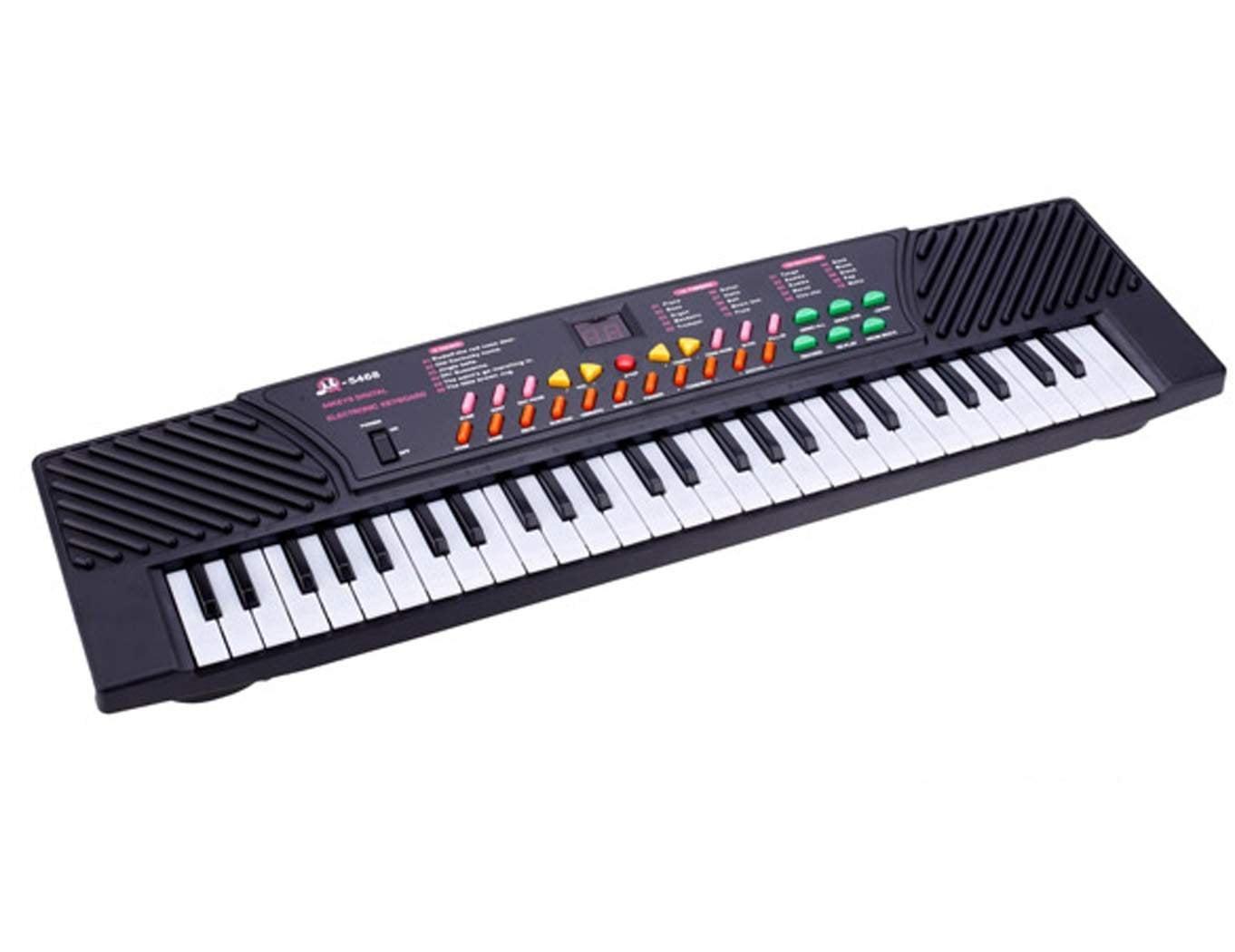 54 Keys Music Electronic Keyboard Kid Electric Piano Organ Record Playback W Mic by AUEY