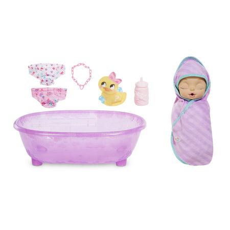 Baby Born Surprise Bathtub Surprise Purple Swaddle Princess w/ 20+ Surprises