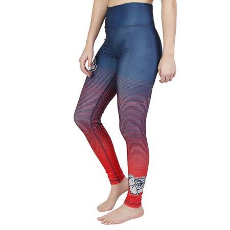 Ncaa Gonzaga Fringe Ladies Sublimated Legging