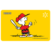 Charlie Play Ball Walmart eGift Card