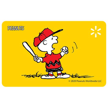 Charlie Play Ball Walmart eGift Card
