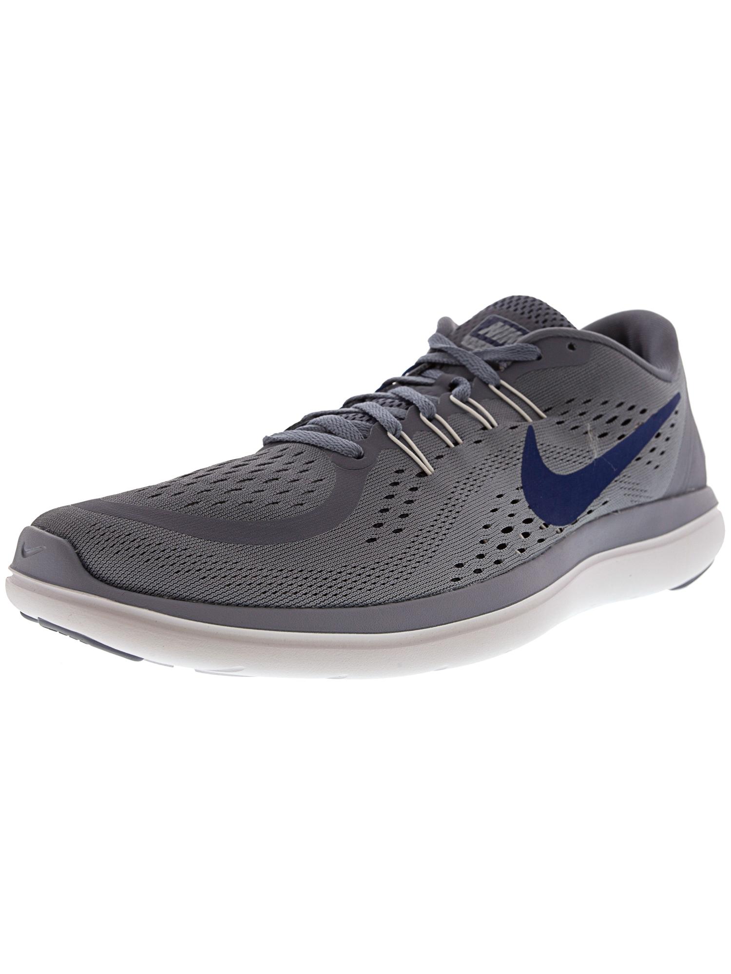 Nike Men's Flex 2017 Rn Black / Metallic Hematite-Tough Red Ankle-High Running Shoe - 12M