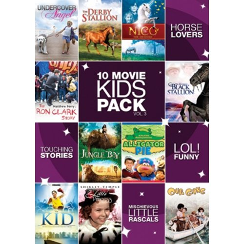 10-Movie Kids Pack, Vol. 3 (Full Frame)