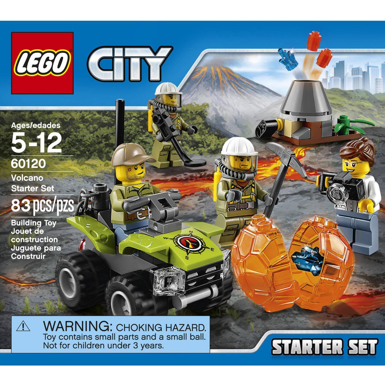 Explorers Lego City Starter Production Volcano Toys By Game Set60120 qGUVLSpzjM
