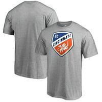 FC Cincinnati Fanatics Branded Primary Team Logo T-Shirt - Heather Gray
