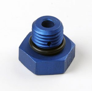 JEGS 100351 Straight Thread Port Plug