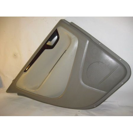 (Pre-Owned Original Part) DRIVER REAR DOOR INTERIOR TRIM PANEL 03 Volvo S60 R168035