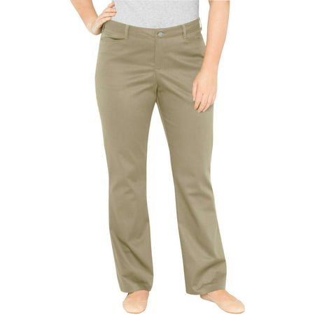 Women's Plus Size Relaxed Boot Cut Pants