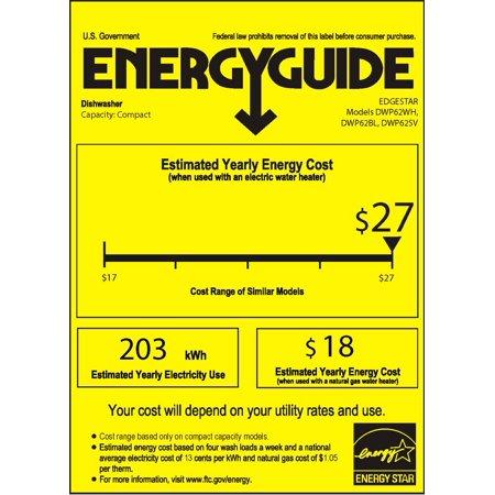 Edgestar Dwp62 22 Wide 6 Place Setting Energy Star Rated Countertop Dishwasher Walmart Com Walmart Com