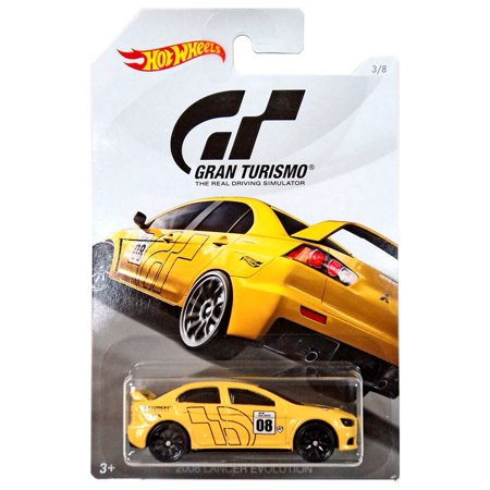 Hot Wheels Gran Turismo 2008 Lancer Evolution Die-Cast