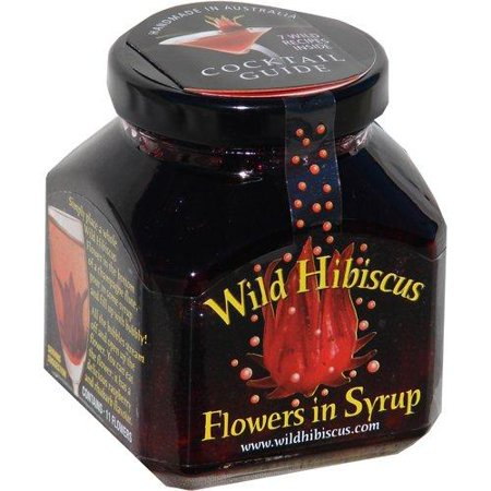 Wild Hibiscus Flowers in Syrup 8.8oz (250g)