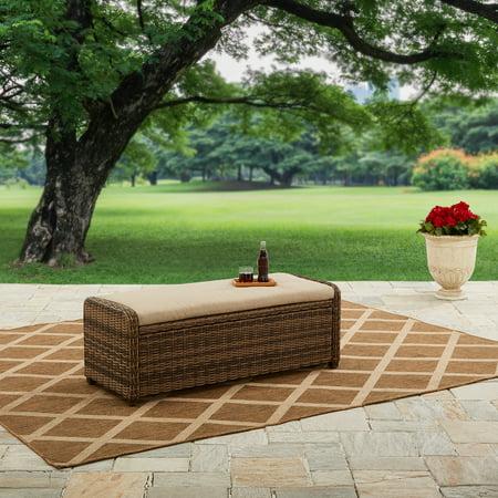 Better Homes And Gardens Hawthorne Park Outdoor Storage Ottoman
