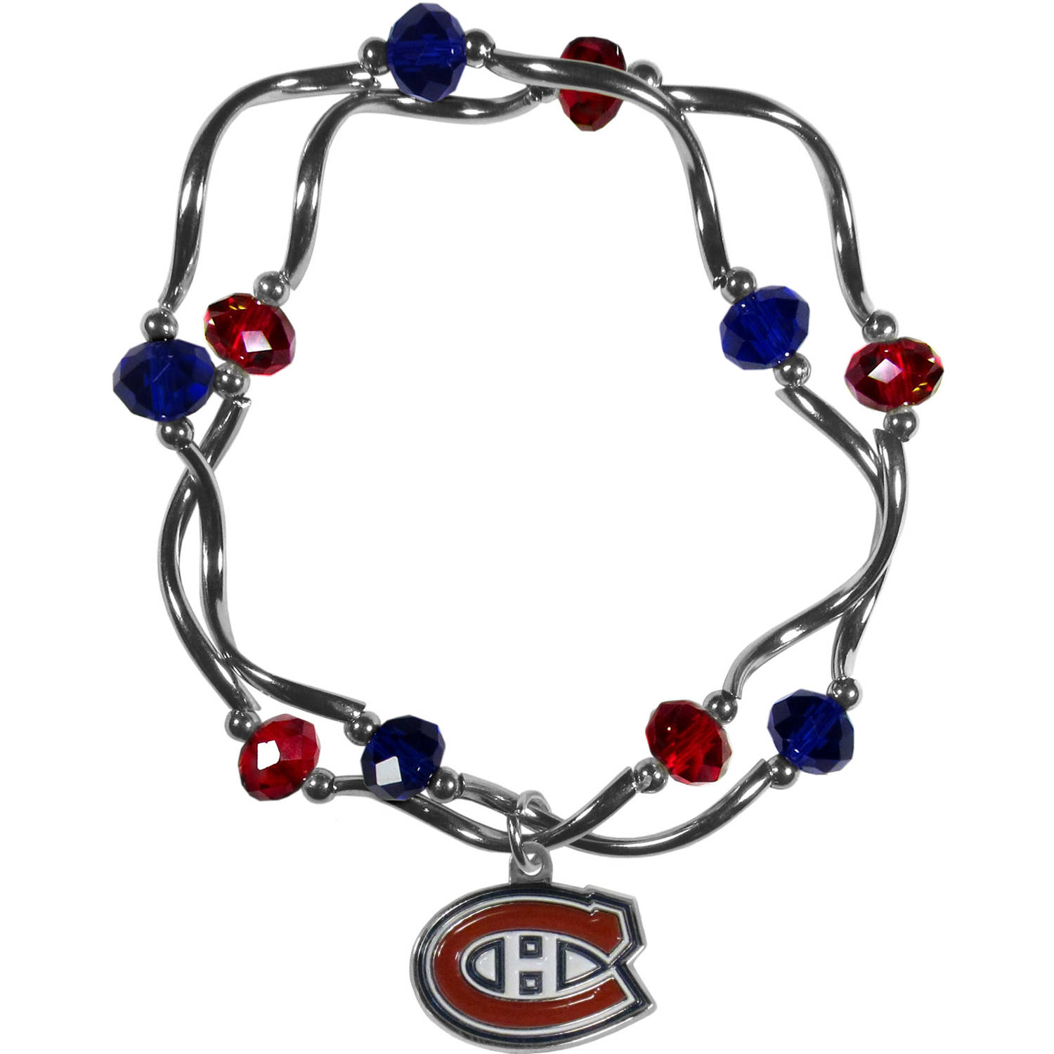 NHL Montreal Canadiens Stretch Bead Bracelet