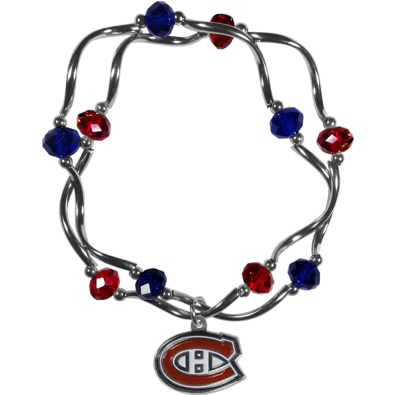 Montreal Canadiens Stretch Bead Bracelet