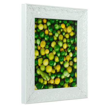 Craig Frames Renaissance, Ornate Pearl White Picture Frame, 12 x 18 ...