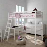 Loft Beds With Desks Walmart Com