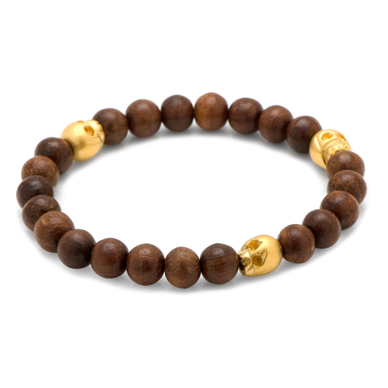 Men's Cufflinks Inc Thomas Wood Stretch Bracelet