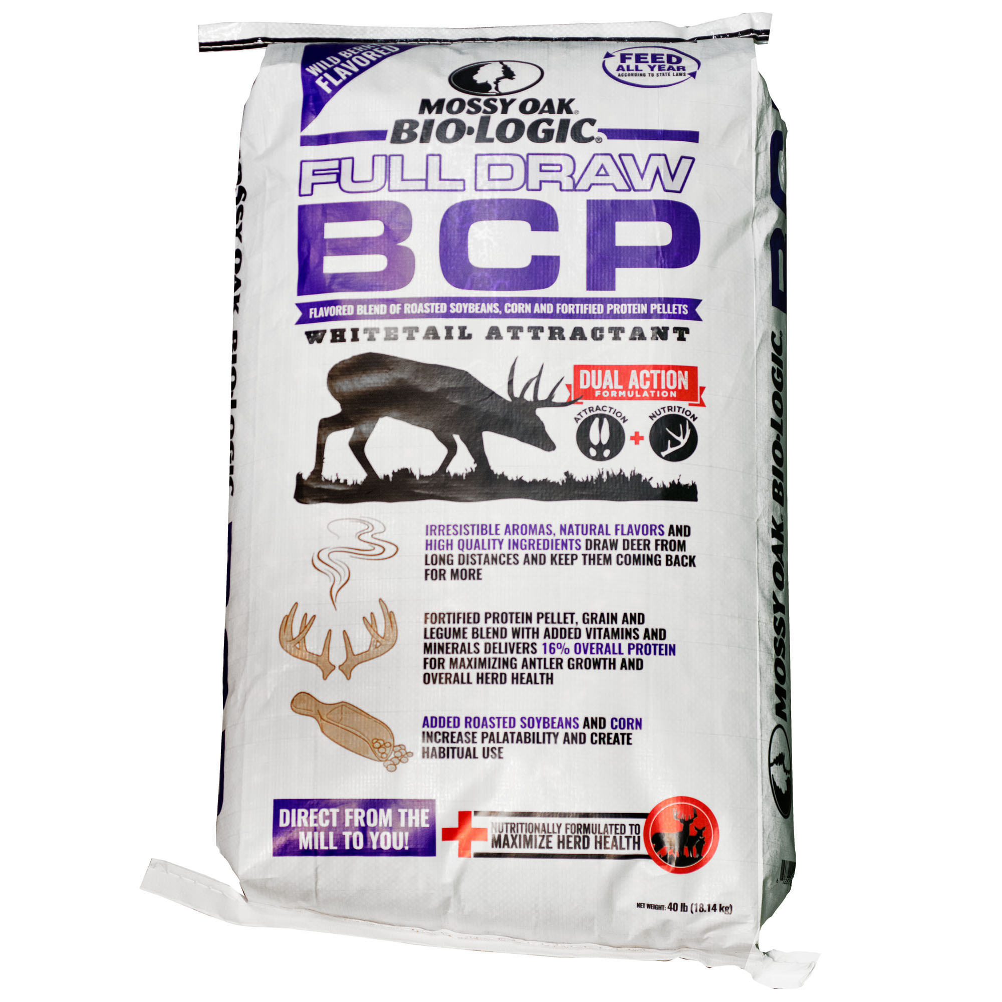 Mossy Oak BioLogic Full Draw BCP Wild Berry Deer Attractant