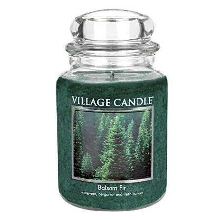 Village Candle Balsam Fir Candle 26-Ounce - Balsam Home Fragrance