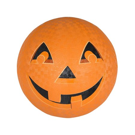 Halloween Jack-o-lantern Pumpkin Face Playground Ball Toy (Halloween Cheese Ball Face)