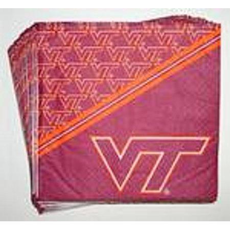 Virginia Tech Hokies Beverage Napkins