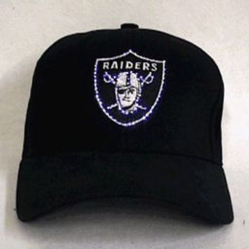 Oakland Raiders Flashing Fiber Optic Cap
