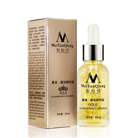 New Skin Care Pure 24K Gold Essence Day Cream Anti Wrinkle Face Care Anti Aging Collagen Whitening Moisturizing Hyaluronic (Best Whitening Skin Care Products For Asian Skin)