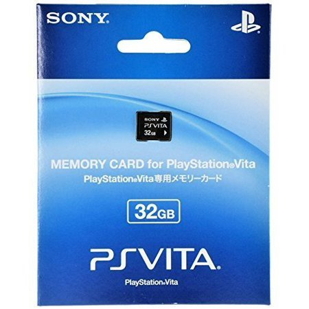 OFFICIAL Memory Card 32GB for PS Vita Sony PlayStation PSV Japan PCH-Z321J  NEW (Refurbished)