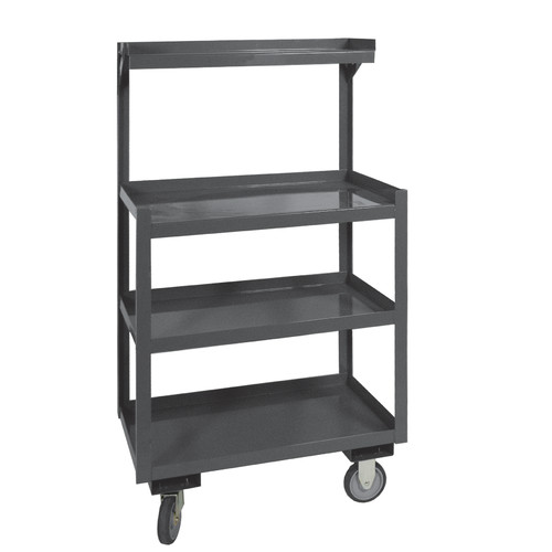 Steel Cart, 1200 Lbs, 4 Shelves Durham MFG PSD-2430-4-95