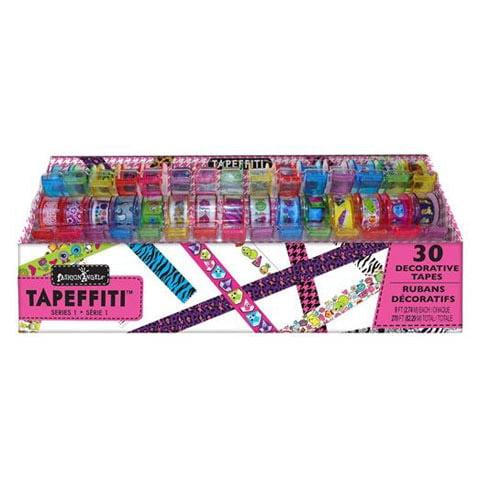 Fashion Angels Tapeffiti Decorative Tape Caddy 30 Tape Rolls Walmart Com Walmart Com