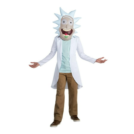 Rick & Morty - Rick Teen Costume Teen](Rick & Morty Costume)