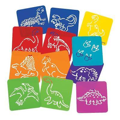 IN-56/38 Dinosaur Stencils Per Dozen