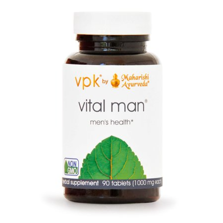 Vital Man | 90 Tablets | Natural Herbal Supplement for Energy & Stamina | Promotes Healthy Reproductive System with Ashwagandha & Licorice | Boosts Resistance to Stress | Supports Healthy