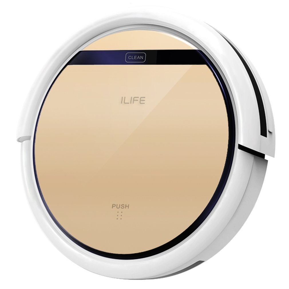 ILIFE V5s Robotic Vacuum Cleaner with Water Tank Mop, Mopping Floor