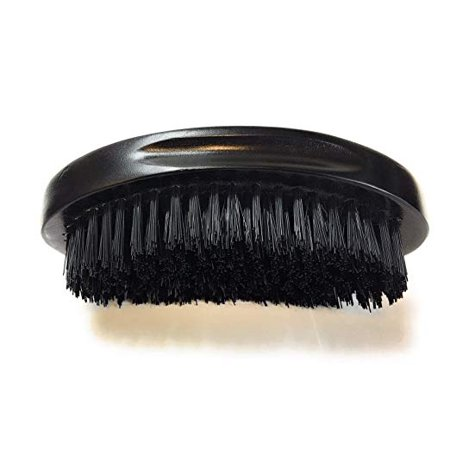 GBS Finest Men's Range Military Style Brush 100% Natural Wooden Dual Men Hair Bristle Brush For Beard and Hair. 3
