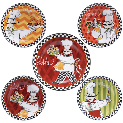 Fleur De Lis Living Marcie Pasta Bowl Set of 5 by