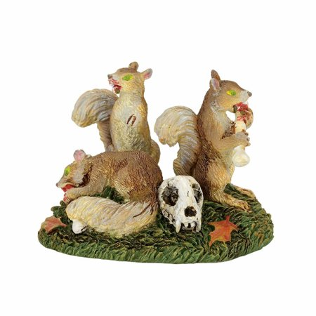 Dept 56 Halloween Village 4057621 Creepy Creature Scary Squirrel 2017