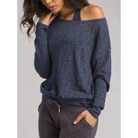 PrAna Women's Prairie Grove Sweater, Equinox Blue, Small