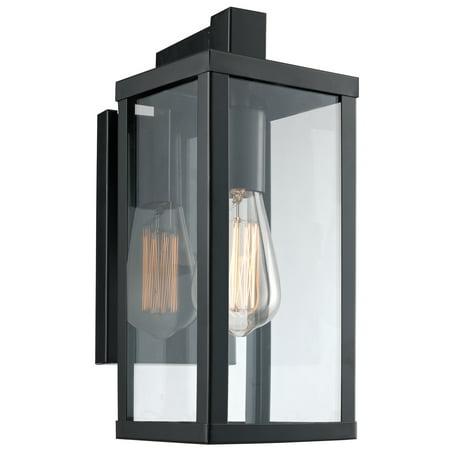 Bel Air Lighting Cb 40750 Bk 12 5 1 Light Oxford Wall Lantern Down Small In Black Finish